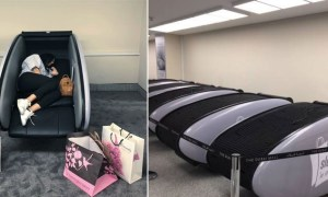 Emaar Launches Sleeping Pods in Dubai Mall for Tired Shoppers