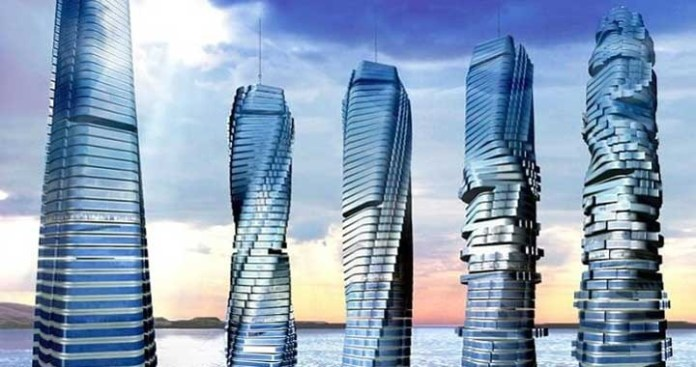 World's First Rotating Skyscraper 'Dynamic Tower' to complete by 2020