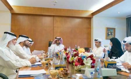 Ammar Al Nuaimi chairs meeting of Humaid bin Rashid Charity Foundation's Board of Trustee