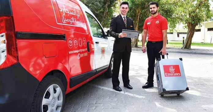 Check in your Luggage at Home with Emirates Airlines