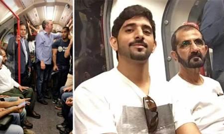 HH Sheikh Mohammed and Sheikh Hamdan visits London