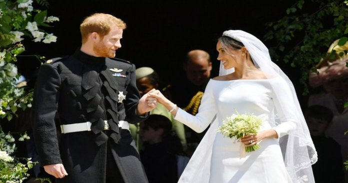 Prince Harry and Meghan Markle Marries at St. George's Chapel