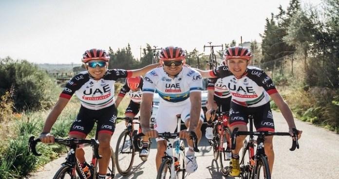 UAE Team Emirates Top Team Standings