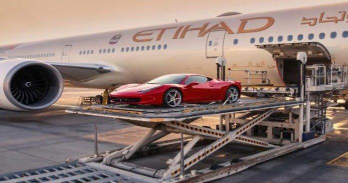 Etihad Cargo Unveils FlightValet Service for Transferring Supercars
