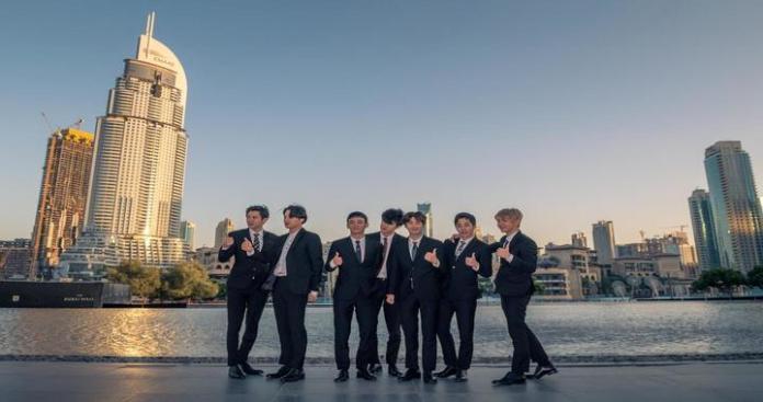 South Korean Band Exo to Perform on Burj Khalifa's giant LED on July 14