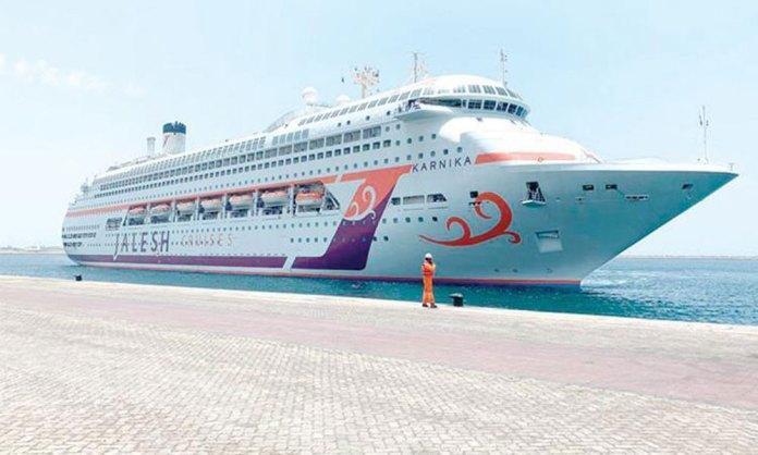 'Karnika', India's first premium cruise ship arived Dubai