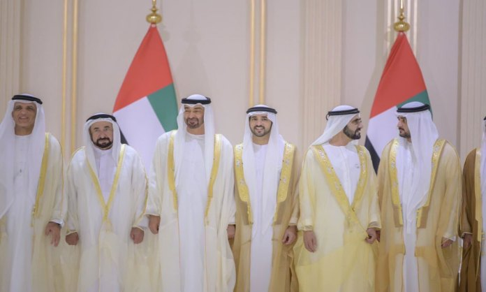 UAE celebrates the marriage of the three sons of the ruler of Dubai