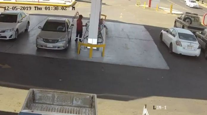 CCTV Footage of Fuel Tank Explosion in Madina this Week