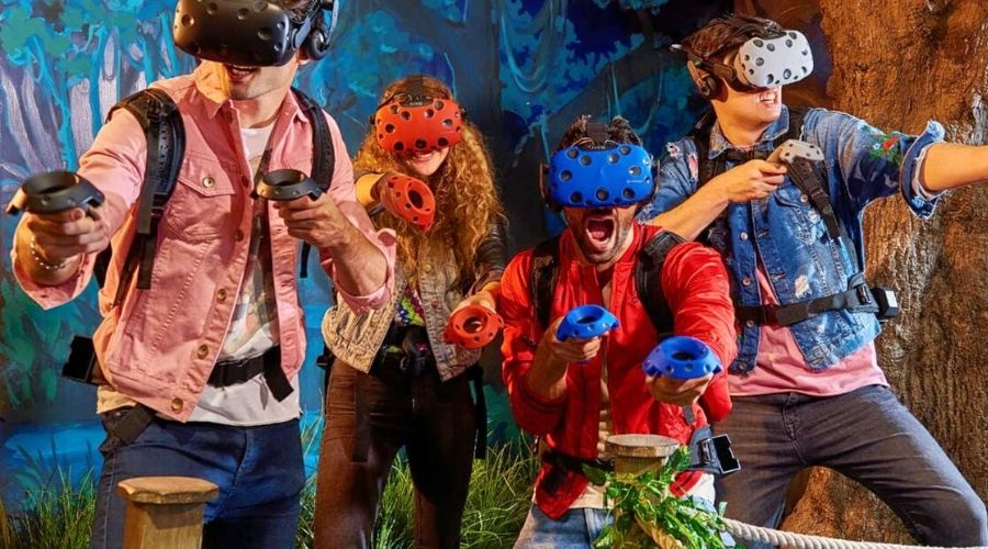Dreamscape Virtual Reality Park opens at Mall of Emirates