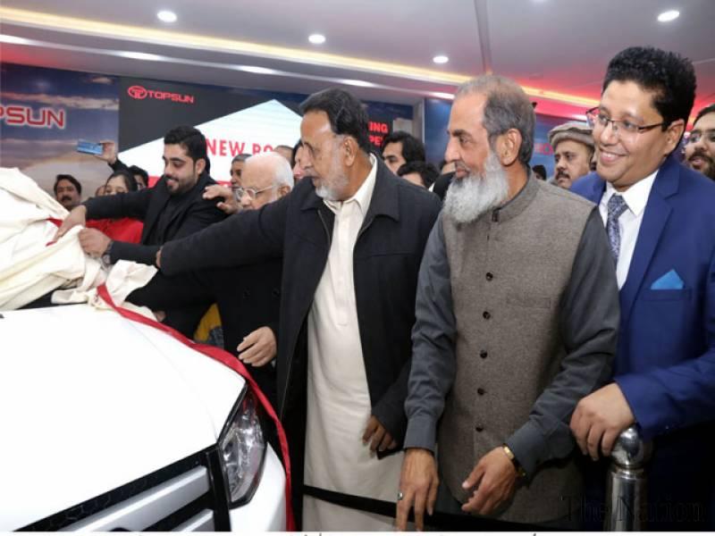 China and Pakistan motor company electric cars