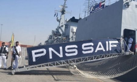Pakistan's Warship 'Saif' visits UAE as Goodwill Gesture
