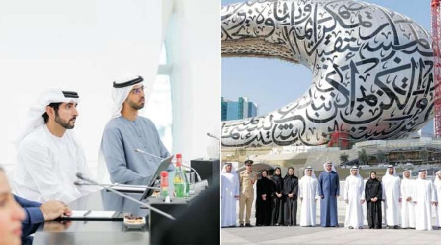 Sheikh Hamdan attends Tour of Dubai's Museum of the Future