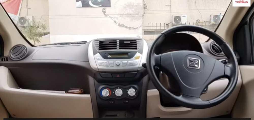 Zyote Z100 interior pakistan specification features