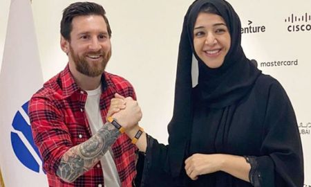 Lionel Messi visits Dubai for Expo 2020
