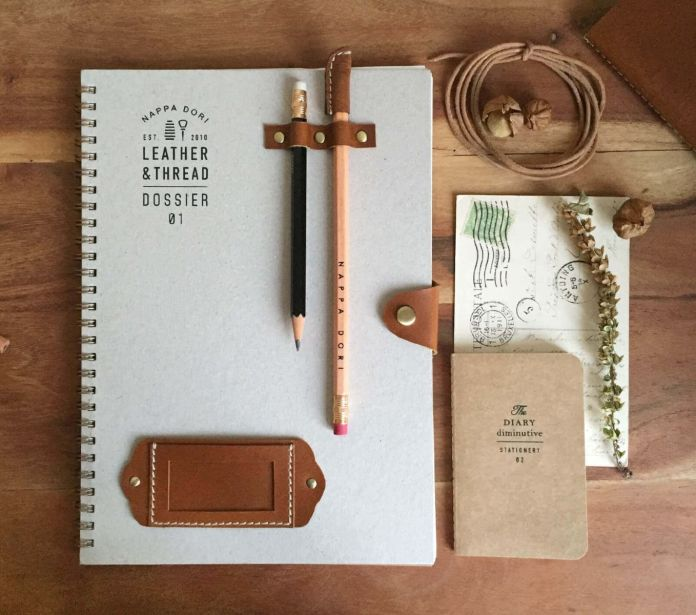 Handcrafted Dossier Notebook