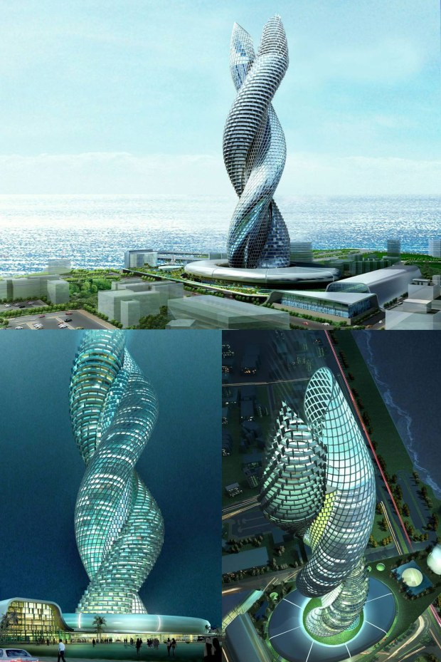 COBRA TOWERS, Amazing buildings