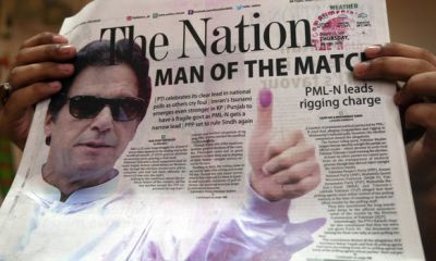 Who is IMRAN KHAN