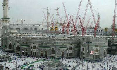 Crane Collapse at Haram Sharif Makkah