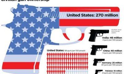 270 Million Civilian Americans have their own Guns