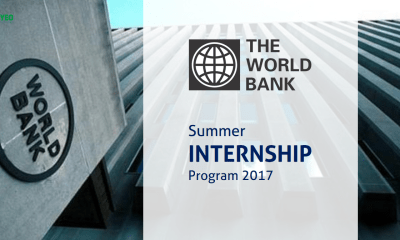 World Bank Group Summer Internship Program