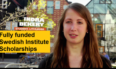 Fully funded Swedish Institute Scholarships