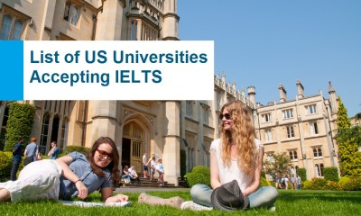 List of US Universities Accepting IELTS