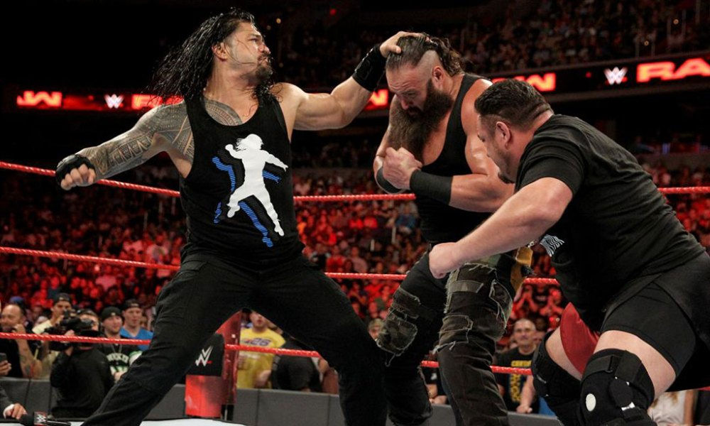 Roman Reigns Fights