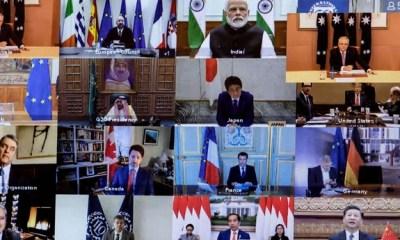 world leaders working in the Coronavirus