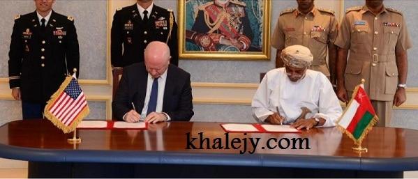 عمان والولايات المتحدة