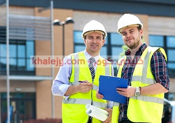 وظائف مهندسين جميع التخصصات لشركة مقاولات كبري