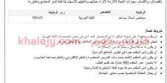 وظائف جامعة نزوي سبتمبر 2020 للعمانيين والاجانب