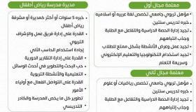وظائف تعليمية وإدارية للنساء في مدرسة خاصة بسلطنة عمان