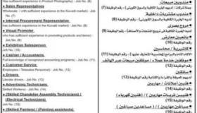 وظائف الشركة العربية للكهرباء في الكويت للمواطنين والوافدين