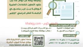 جامعة بيشة وظائف أكاديمية بنظام التعاون رجال ونساء بمختلف التخصصات