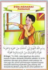 Doa Memakai Pakaian (beserta terjemahan)