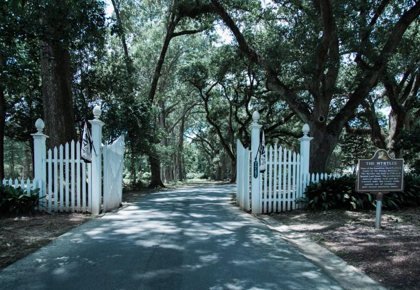 Rt. 61, Oak Alley Plantation.