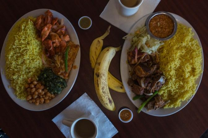 Dinner Combination Hoyo's Kitchen | Fast casual Somali
