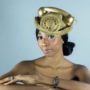 The Telephone Hats a Shiree Houf Couture Collection // k.H.a. lifestyle photography