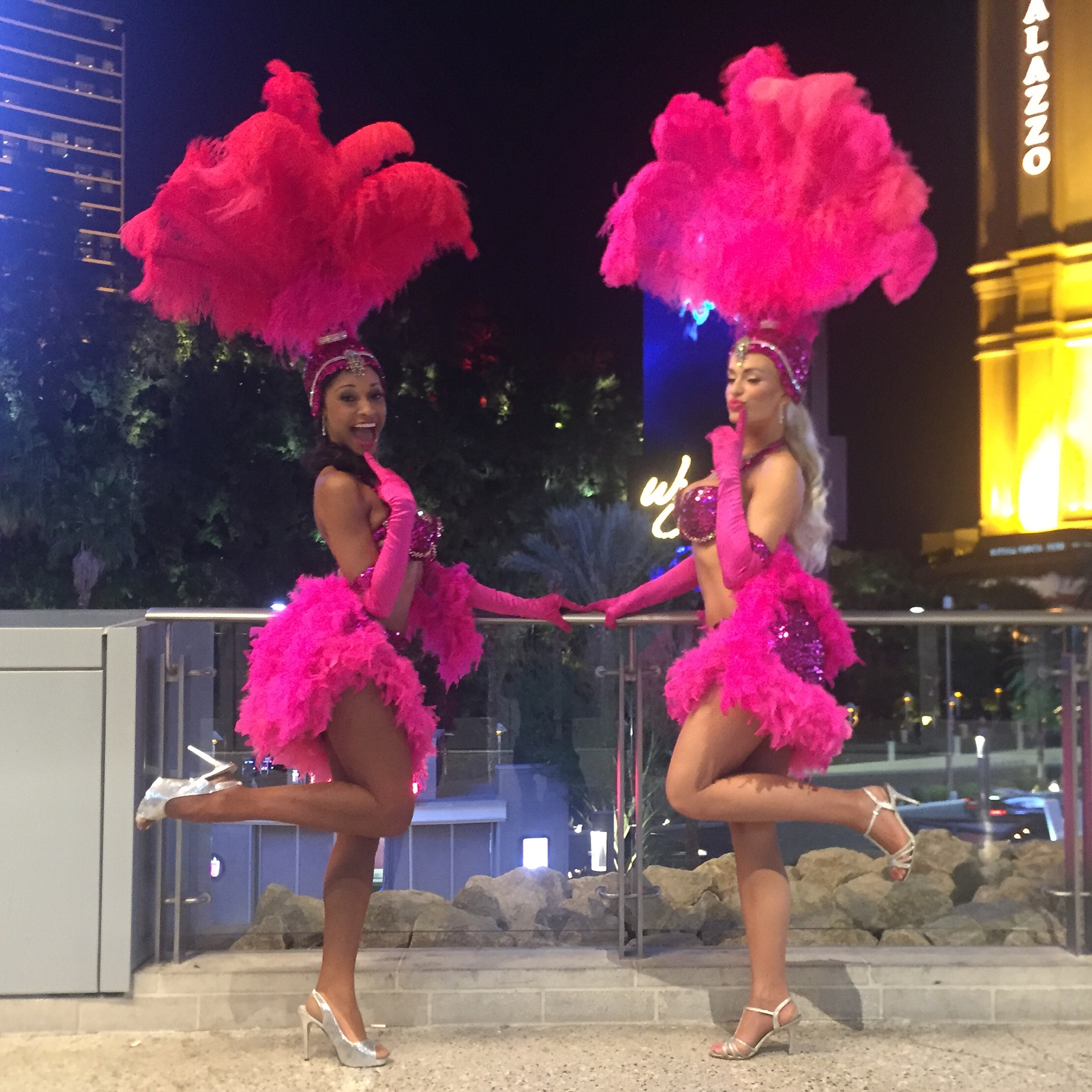 Las Vegas Showgirls Khalilah Yasmin
