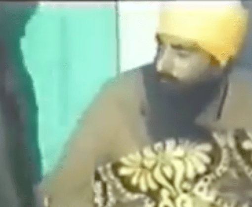 Sant JarnailSingh Ji Bhindranwale Talking with singh about ‎beard