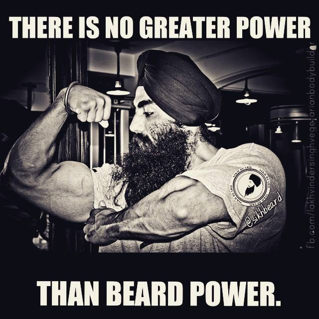 WE ARE DEFENDERS OF THE FAITH...#BEARDPOWER #Sikhbeard