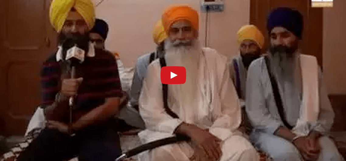 Day of 125 - Yesterday Video of Bapu Surat Singh Ji at village Hassanpur.