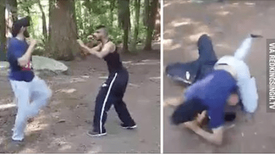 singh fight with other person
