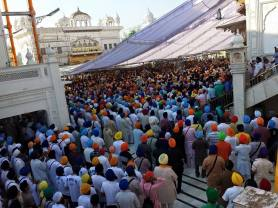 1000s of Sikhs have gathered @ Darbar Sahib to remember the attack 31 years ago
