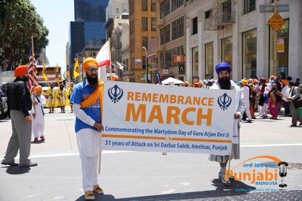 Pictures & Videos London - Thousands of Sikhs march to remember Amritsar temple attack (22)