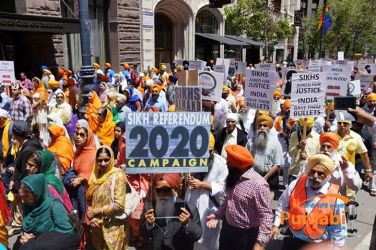 Pictures & Videos London - Thousands of Sikhs march to remember Amritsar temple attack (27)