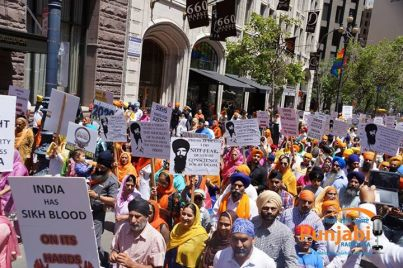 Pictures & Videos London - Thousands of Sikhs march to remember Amritsar temple attack (28)