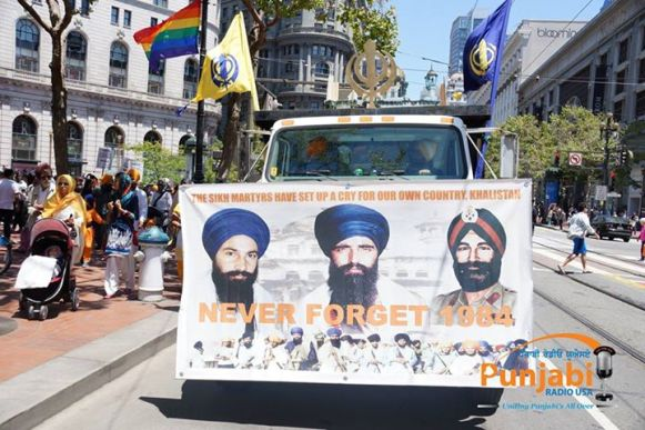 Pictures & Videos London - Thousands of Sikhs march to remember Amritsar temple attack (34)