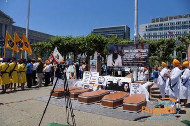 Pictures & Videos London - Thousands of Sikhs march to remember Amritsar temple attack (46)