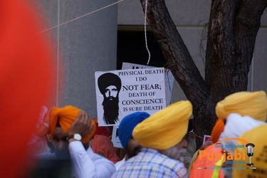 Pictures & Videos London - Thousands of Sikhs march to remember Amritsar temple attack (9)